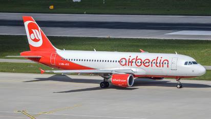 HB-JOZ - Air Berlin - Belair Airbus A320