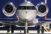 - - Private Bombardier BD-700 Global 5000 aircraft