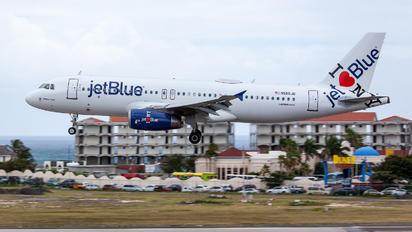 N586JB - JetBlue Airways Airbus A320