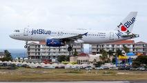 N586JB - JetBlue Airways Airbus A320 aircraft