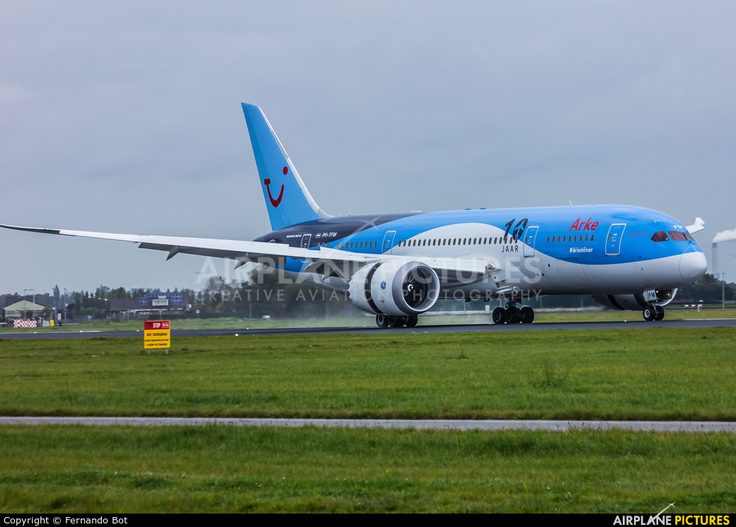Arke/Arkefly PH-TFM aircraft at Amsterdam - Schiphol