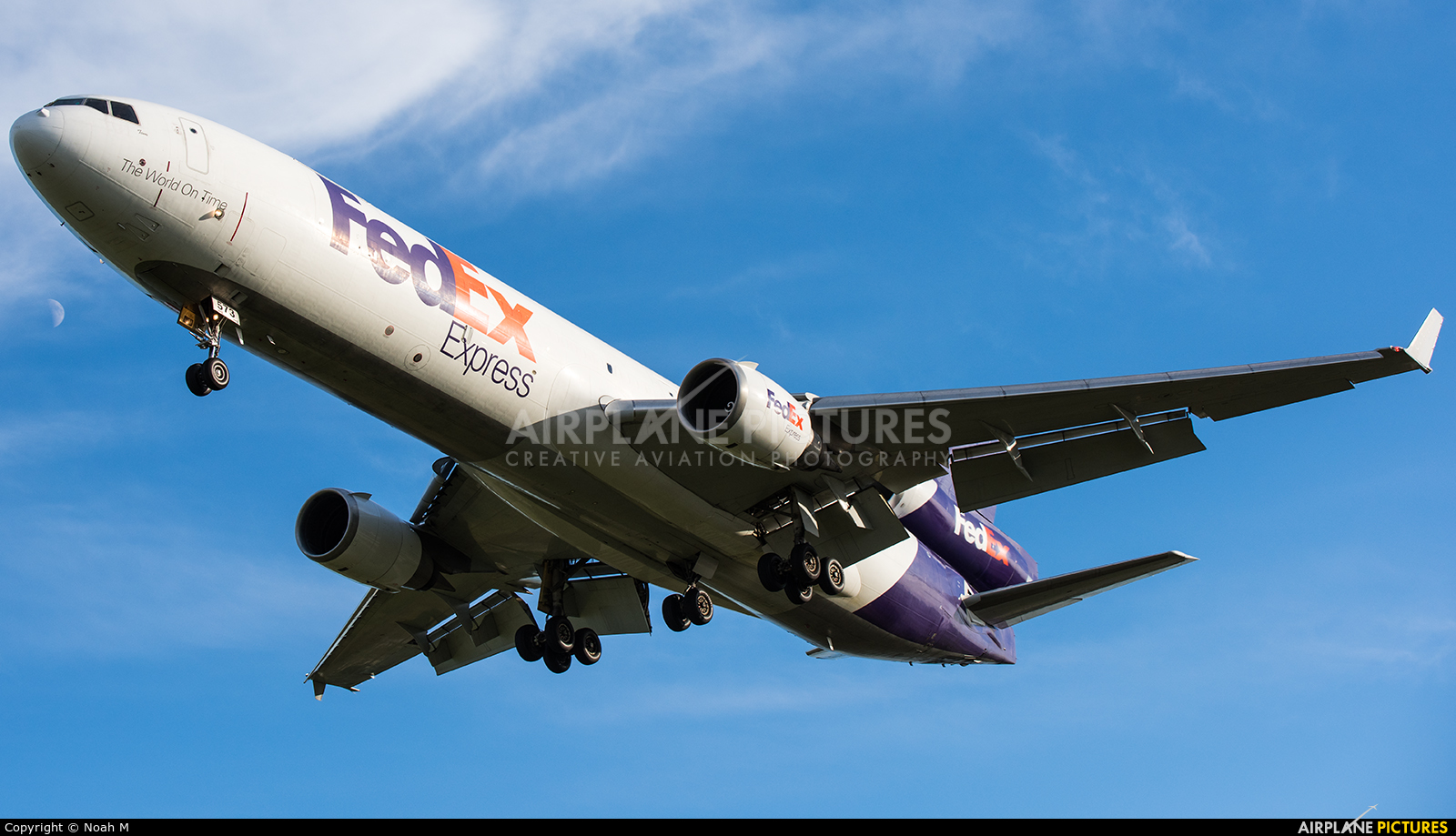 FedEx Federal Express N573FE aircraft at Detroit - Metropolitan Wayne County