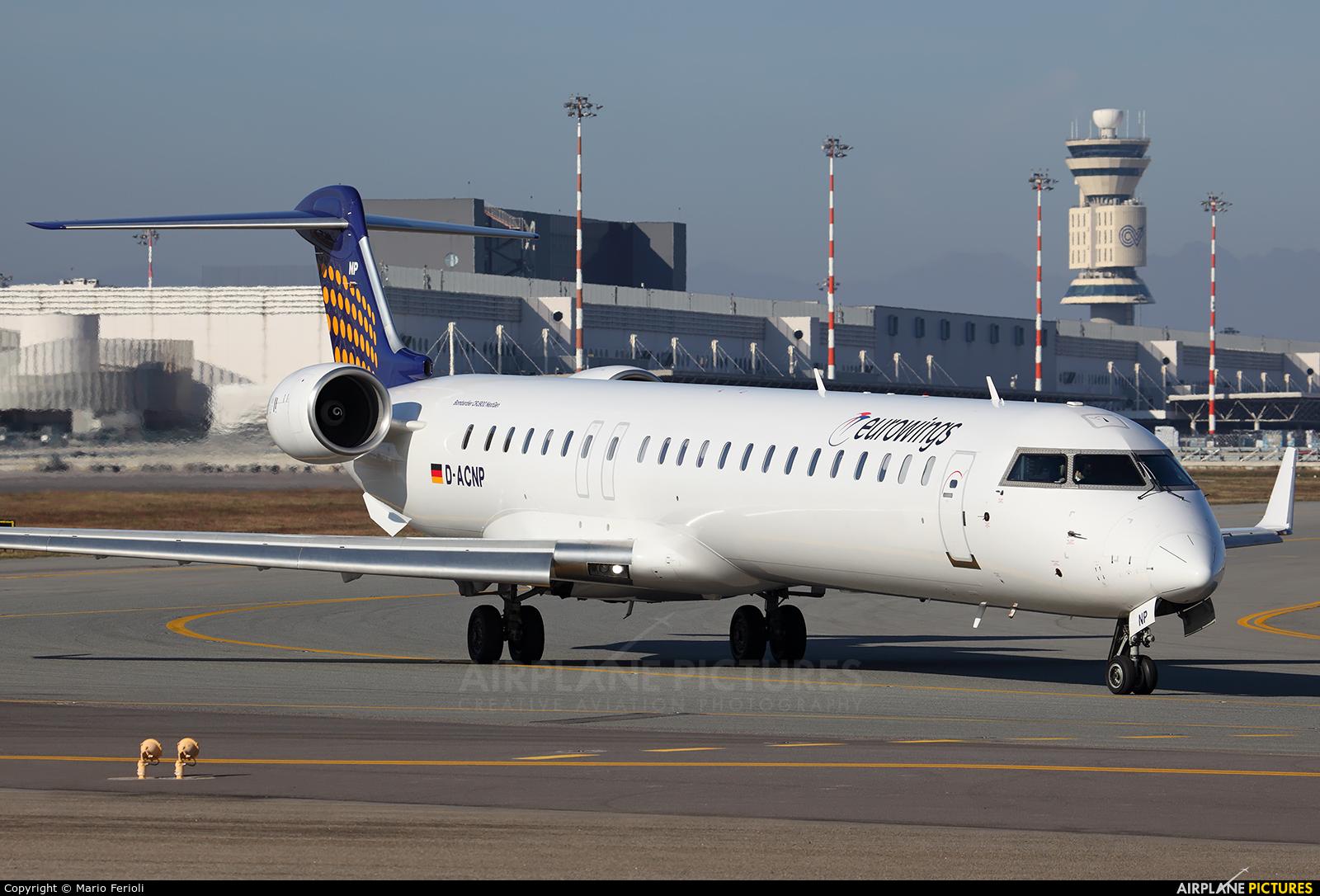 Eurowings D-ACNP aircraft at Milan - Malpensa