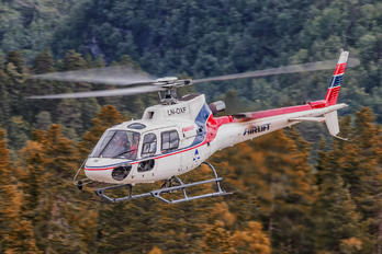 LN-OXF - Airlift AS (Norway) Airbus Helicopters H125