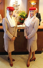 - - Emirates Airlines - Aviation Glamour - Flight Attendant