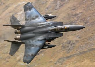 91332 - USA - Air Force McDonnell Douglas F-15E Strike Eagle
