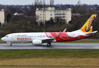 VT-GHA - Air India Express Boeing 737-800