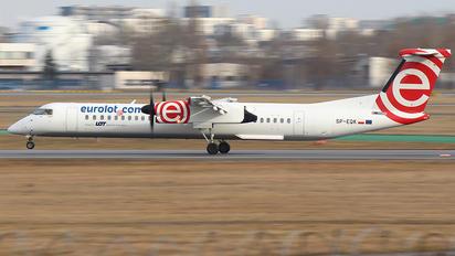SP-EQK - euroLOT de Havilland Canada DHC-8-400Q / Bombardier Q400