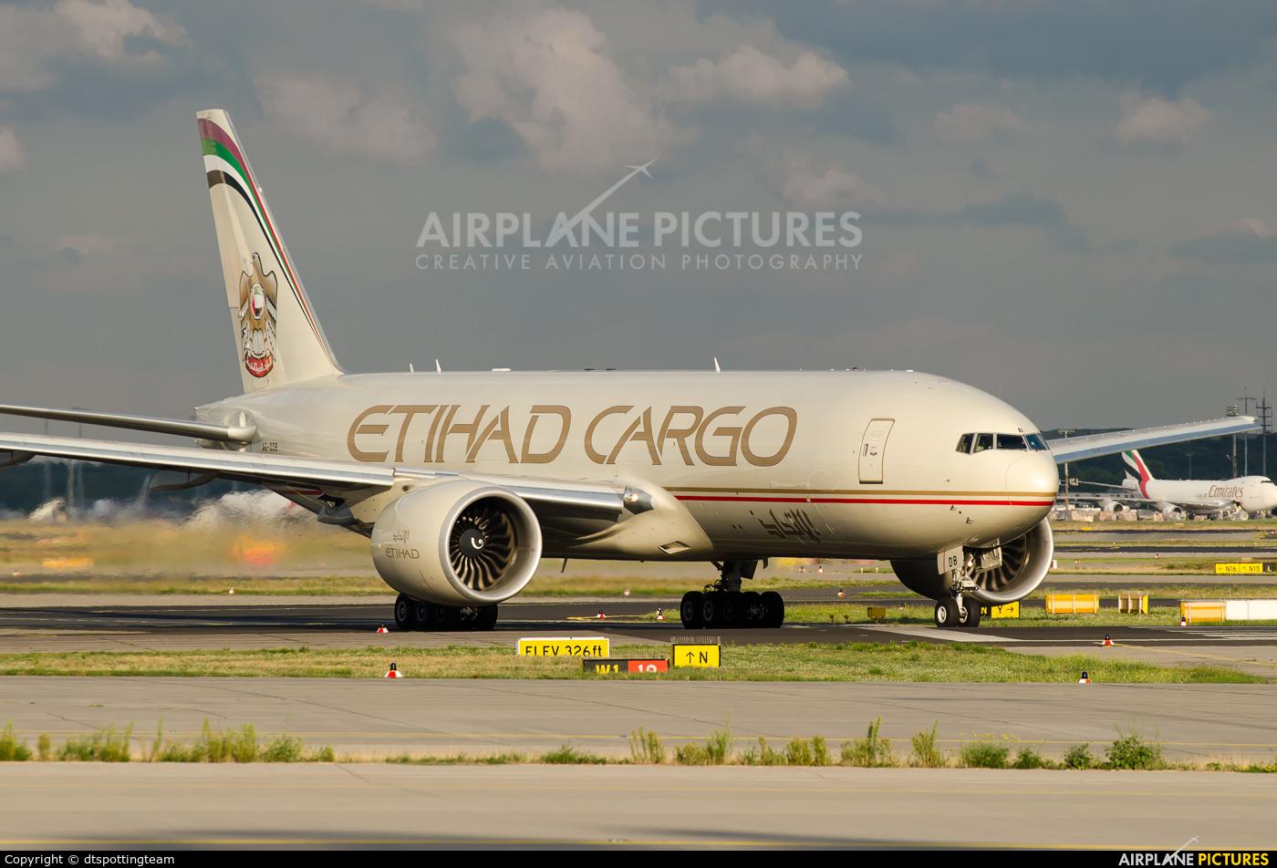 Etihad Cargo A6-DDB aircraft at Frankfurt