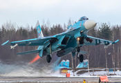 19 - Russia - Air Force Sukhoi Su-27P aircraft