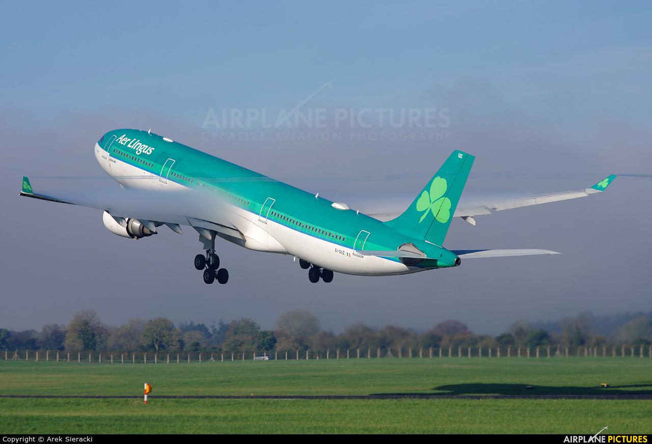 Aer Lingus EI-DUZ aircraft at Dublin