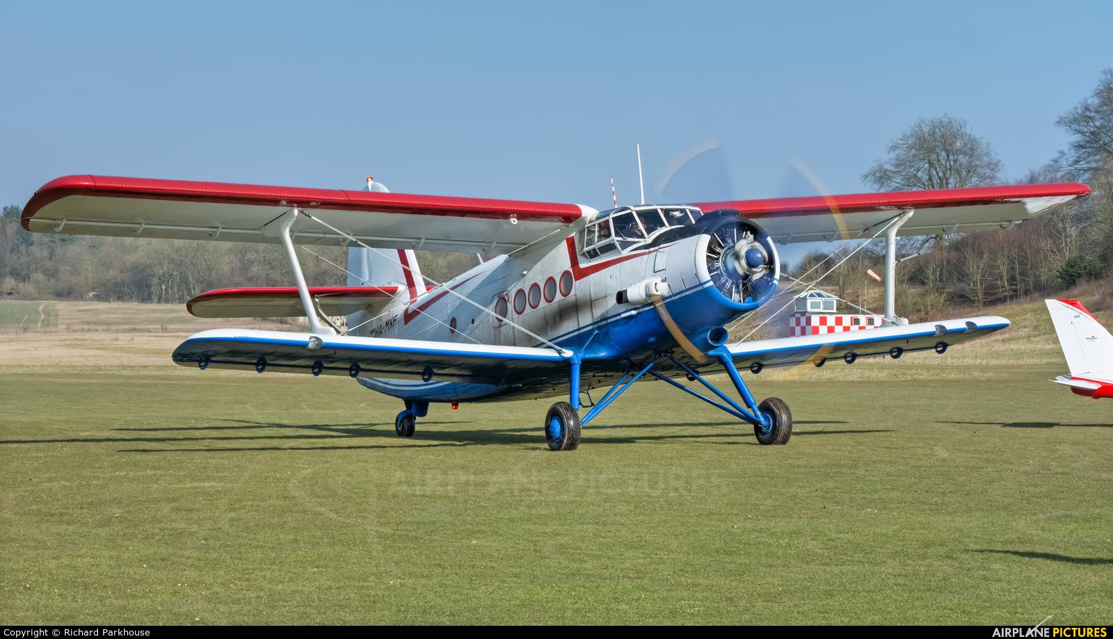 Private HA-MKF aircraft at Popham