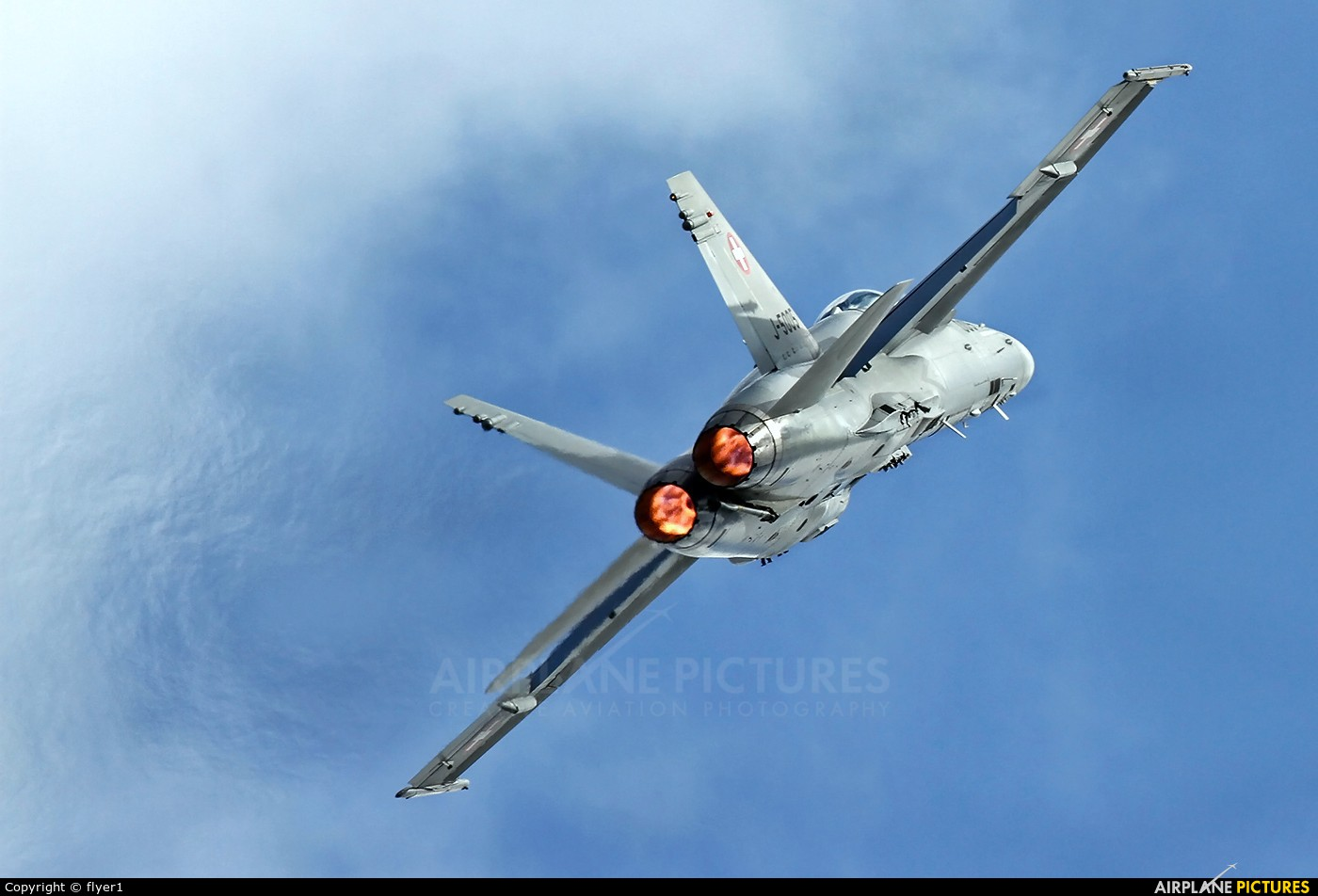 Switzerland - Air Force J-5005 aircraft at Waddington