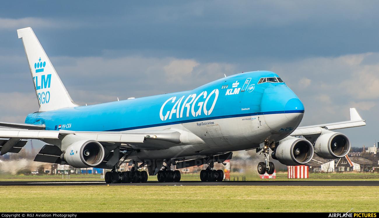 KLM Cargo PH-CKA aircraft at Amsterdam - Schiphol