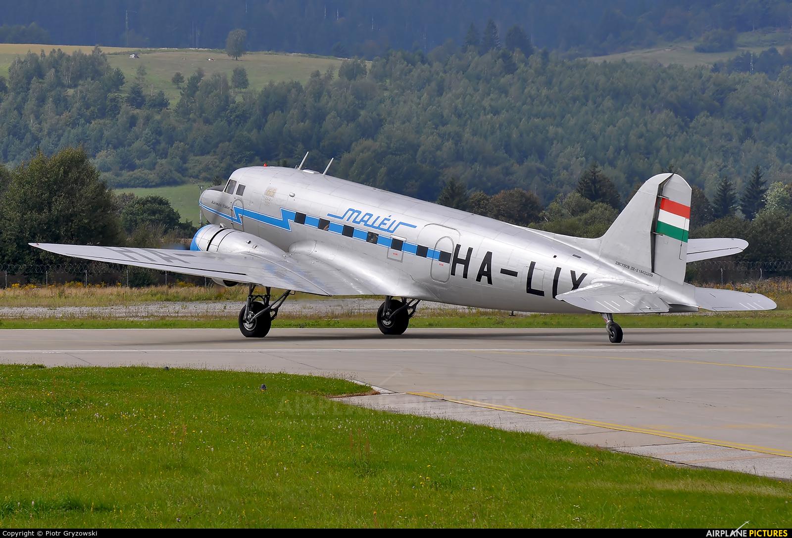 Malev Sunflower Aviation (Gold Ttimer Foundation) HA-LIX aircraft at Sliač