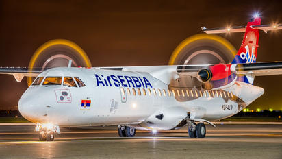 YU-ALV - Air Serbia ATR 72 (all models)