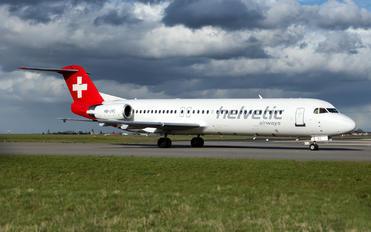 HB-JVC - Helvetic Airways Fokker 100