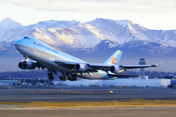 HL7439 - Korean Air Cargo Boeing 747-400F, ERF