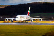 A6-EOA - Emirates Airlines Airbus A380 aircraft