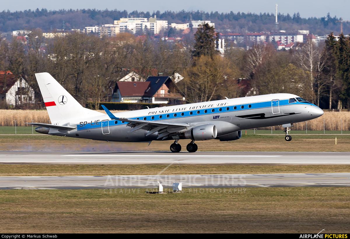 LOT - Polish Airlines SP-LIE aircraft at Munich