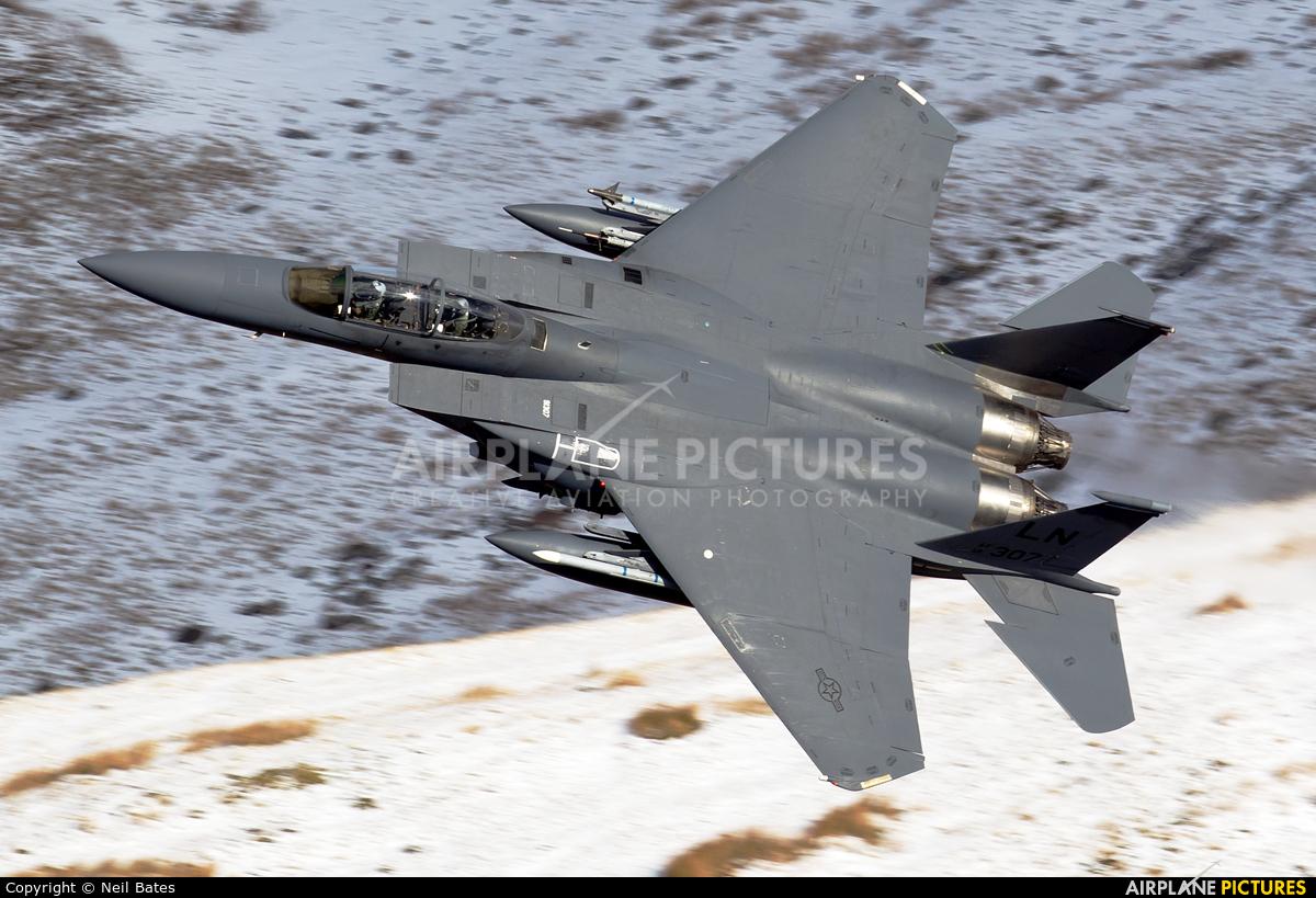 USA - Air Force 91-0307 aircraft at Machynlleth Loop - LFA 7