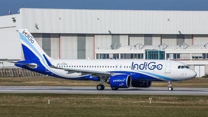 D-AXAH - IndiGo Airbus A320 NEO