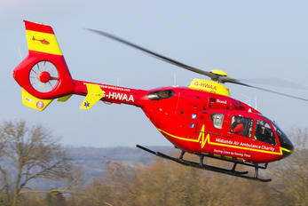 G-HWAA - Midlands Air Ambulance Eurocopter EC135 (all models)