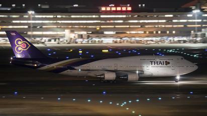 HS-TGA - Thai Airways Boeing 747-400