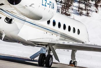 LZ-FIA - Private Gulfstream Aerospace G-V, G-V-SP, G500, G550
