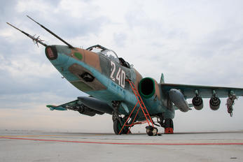 240 - Bulgaria - Air Force Sukhoi Su-25K