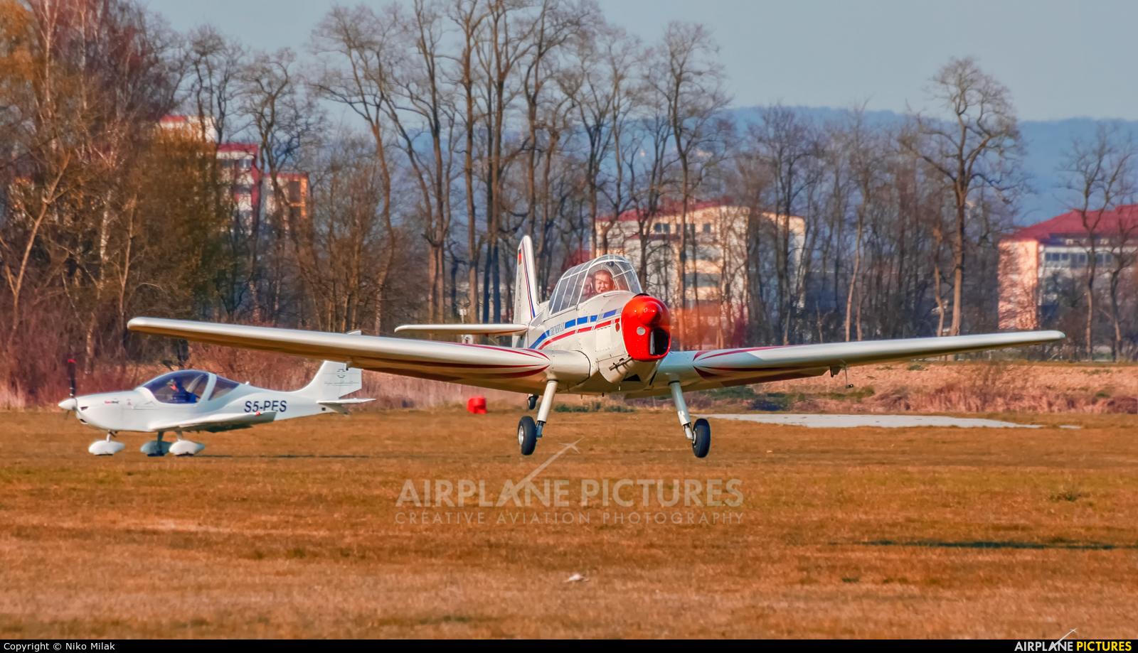 Private D-MSVN aircraft at Murska Sobota