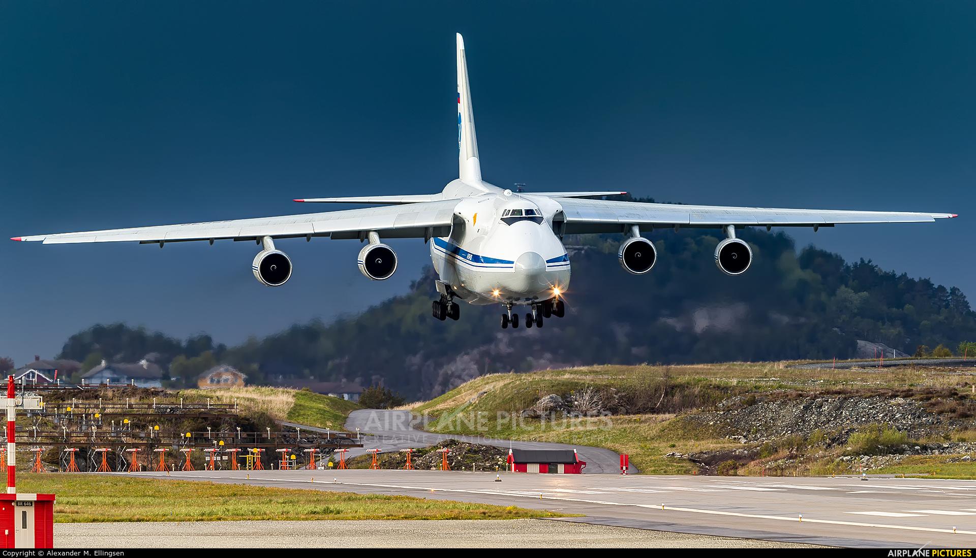 224 Flight Unit RA-82038 aircraft at Bergen - Flesland