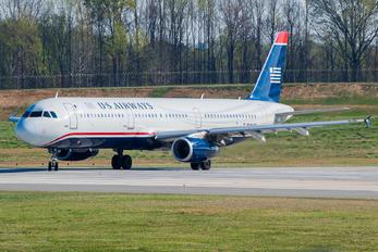 N544UW - American Airlines Airbus A321