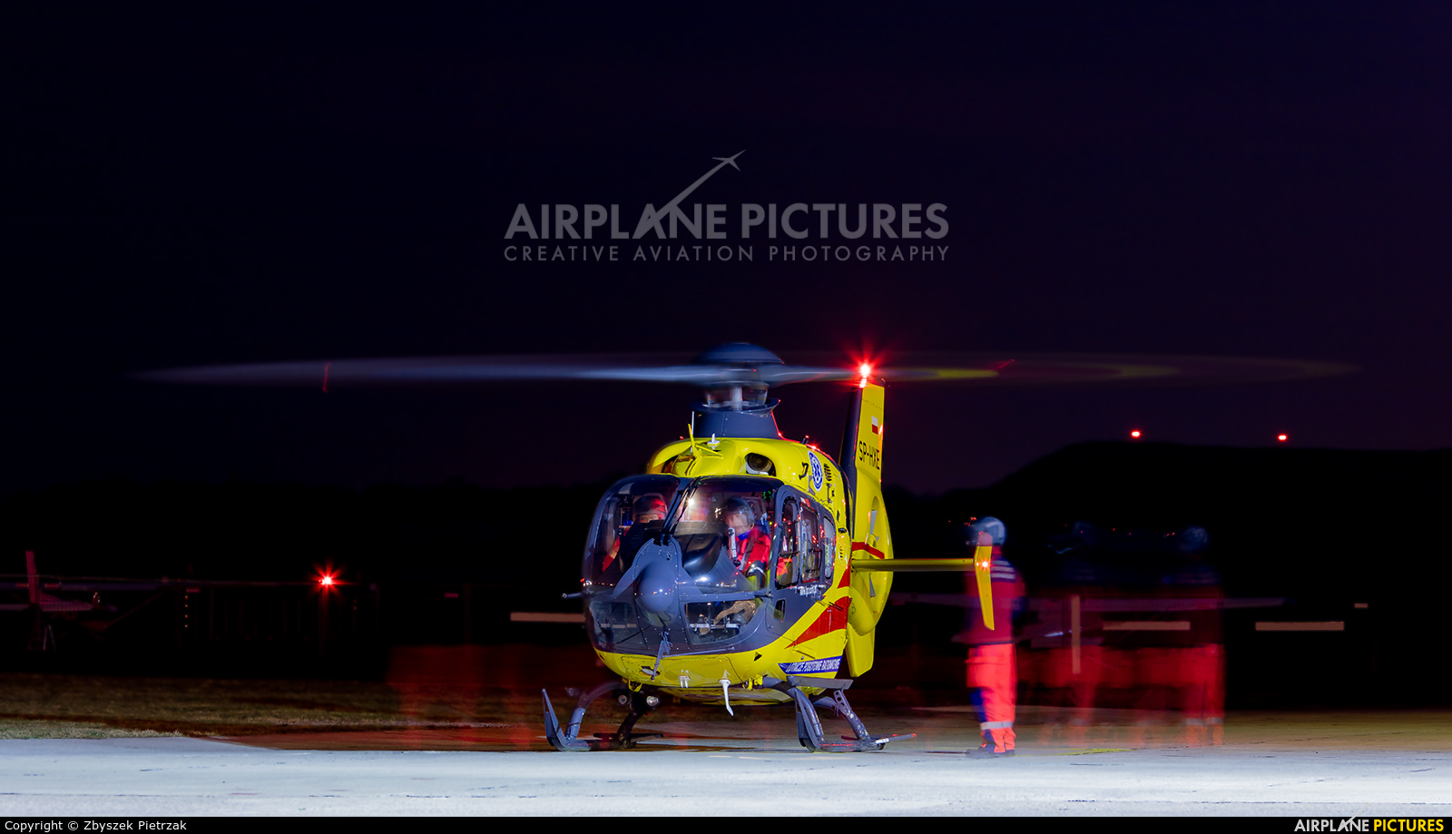 Polish Medical Air Rescue - Lotnicze Pogotowie Ratunkowe SP-HXE aircraft at Warsaw - Babice