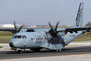 Airbus Military Casa C-295MW night-stopping at Malta Airport title=