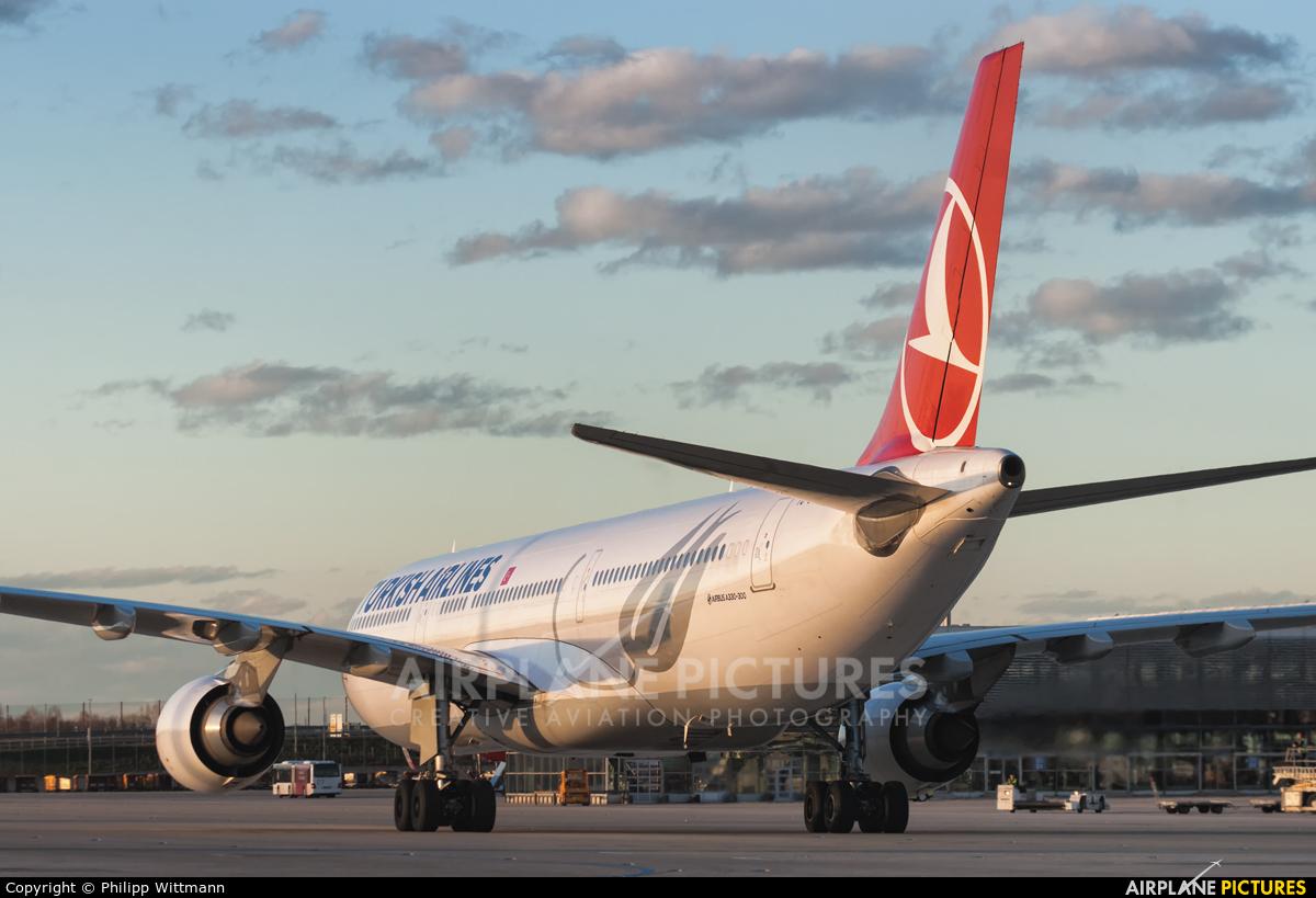 Turkish Airlines TC-JOG aircraft at