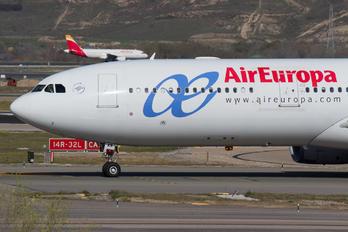 EC-LXR - Air Europa Airbus A330-300