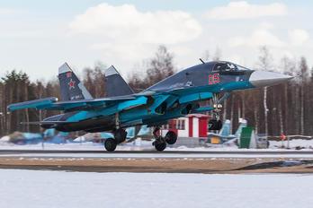 RF-95806 - Russia - Air Force Sukhoi Su-34