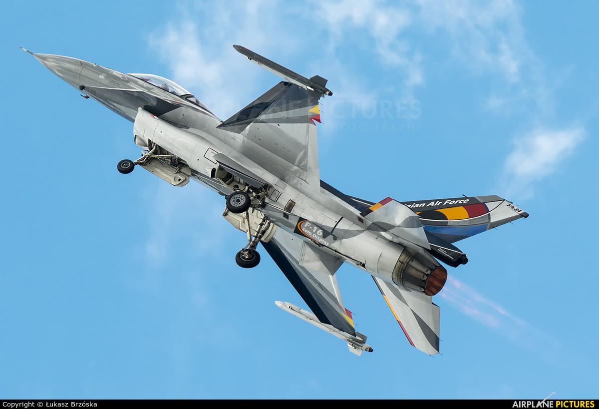 Belgium - Air Force FA-84 aircraft at Uden - Volkel