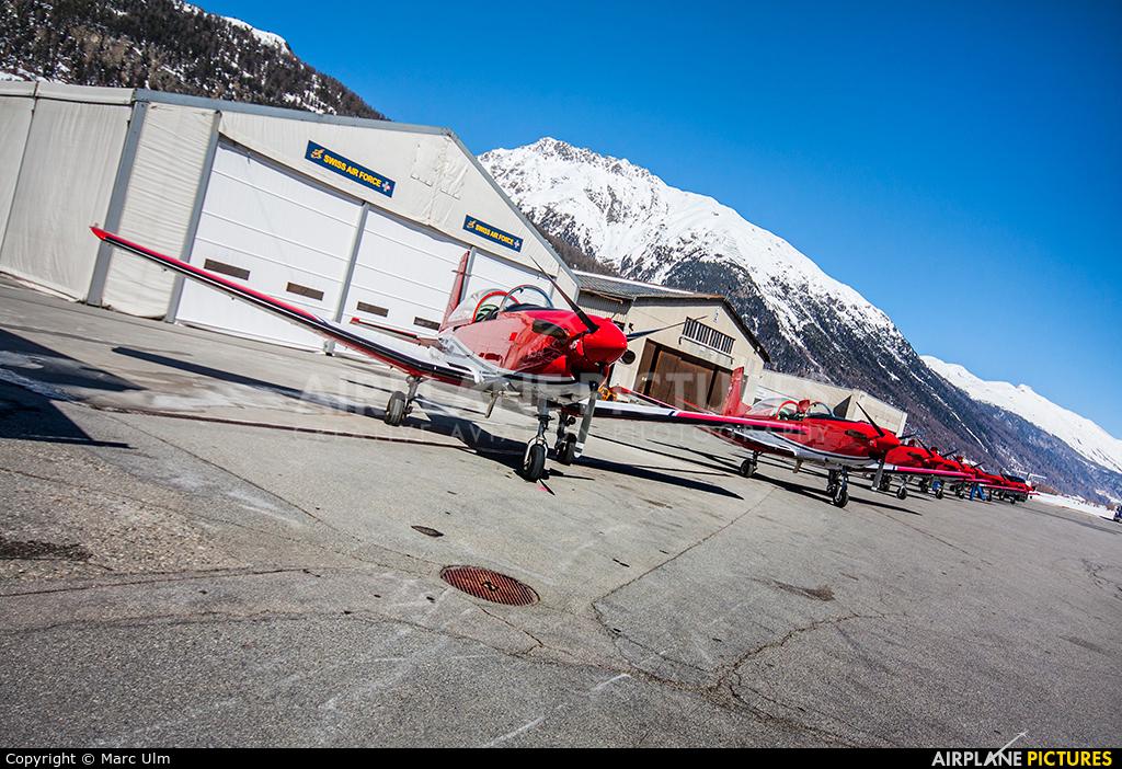 Switzerland - Air Force A-926 aircraft at Samedan - Engadin