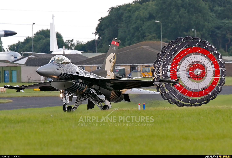 Turkey - Air Force 91-0011 aircraft at Waddington
