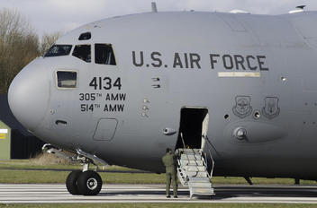 04-4134 - USA - Air Force Boeing C-17A Globemaster III