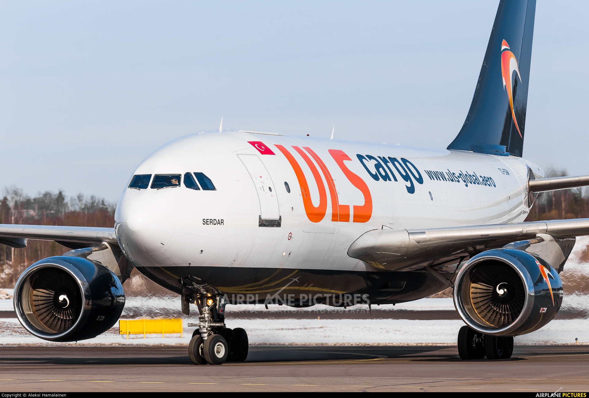 ULS Cargo TC-SGM aircraft at Helsinki - Vantaa