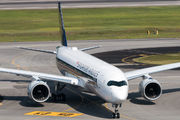 First Airbus A350 for Singapore Airlines title=