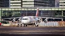 HB-IXU - Swiss British Aerospace BAe 146-300/Avro RJ100 aircraft