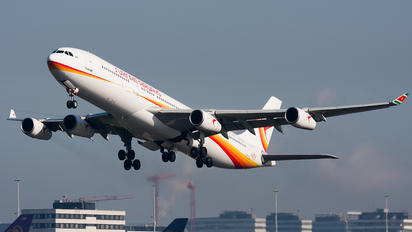 PZ-TCP - Surinam Airways Airbus A340-300