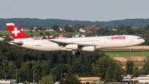 HB-JMB - Swiss Airbus A340-300 aircraft