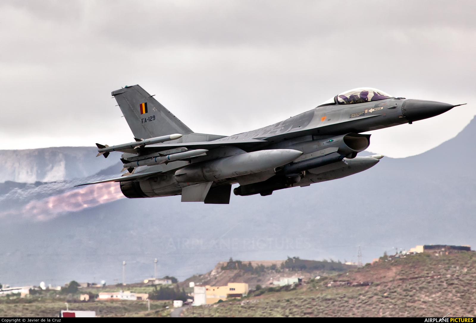 Belgium - Air Force FA-129 aircraft at Las Palmas de Gran Canaria