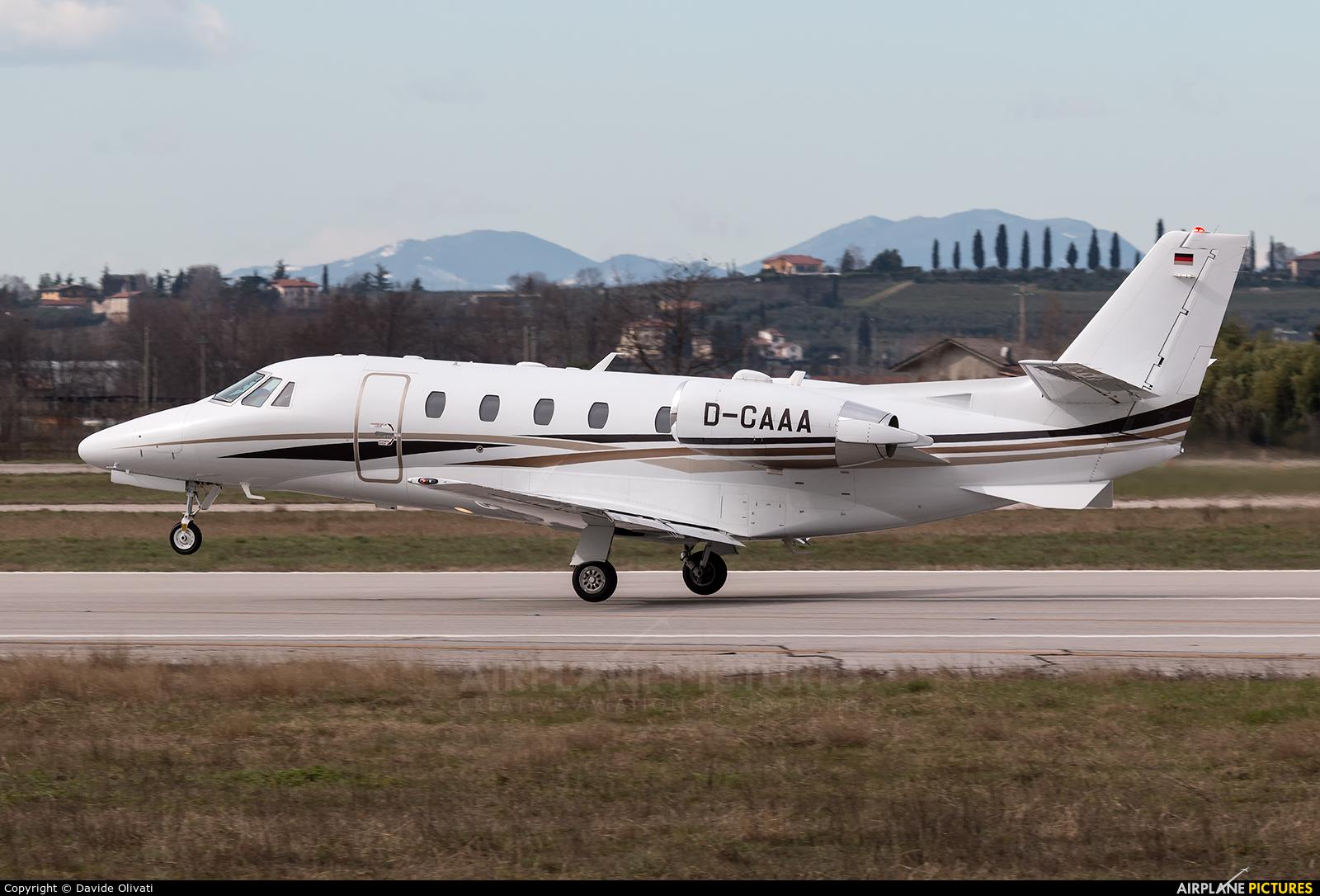 DC Aviation D-CAAA aircraft at Verona - Villafranca