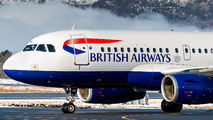 G-EUPG - British Airways Airbus A319 aircraft